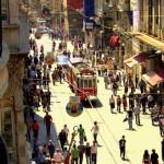 İstiklal Caddesi (Turks voor Onafhankelijkheidsstraat) is een van de bekendste straten in Istanboel, Turkije. Met de verklaring van de Republiek op 29 oktober 1923 werd de naam van de straat veranderd in İstiklal (Onafhankelijkheid) voor de herdenking van de overwinning bij de Turkse Onafhankelijkheidsoorlog.