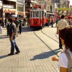 taksim plein istanbul tram