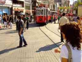 taksim istanbul tram