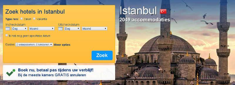 hotel boeken istanbul