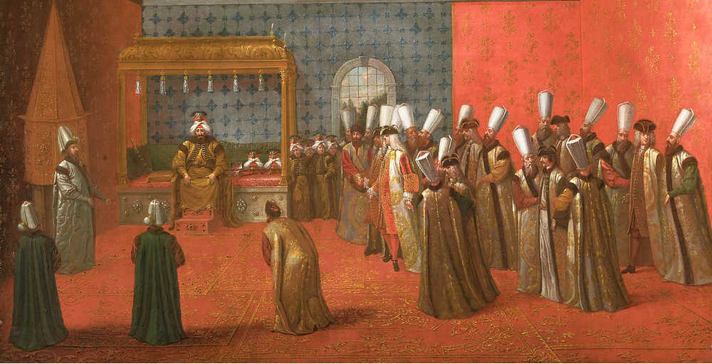 Audiëntie-bij-sultan-Ahmed-III