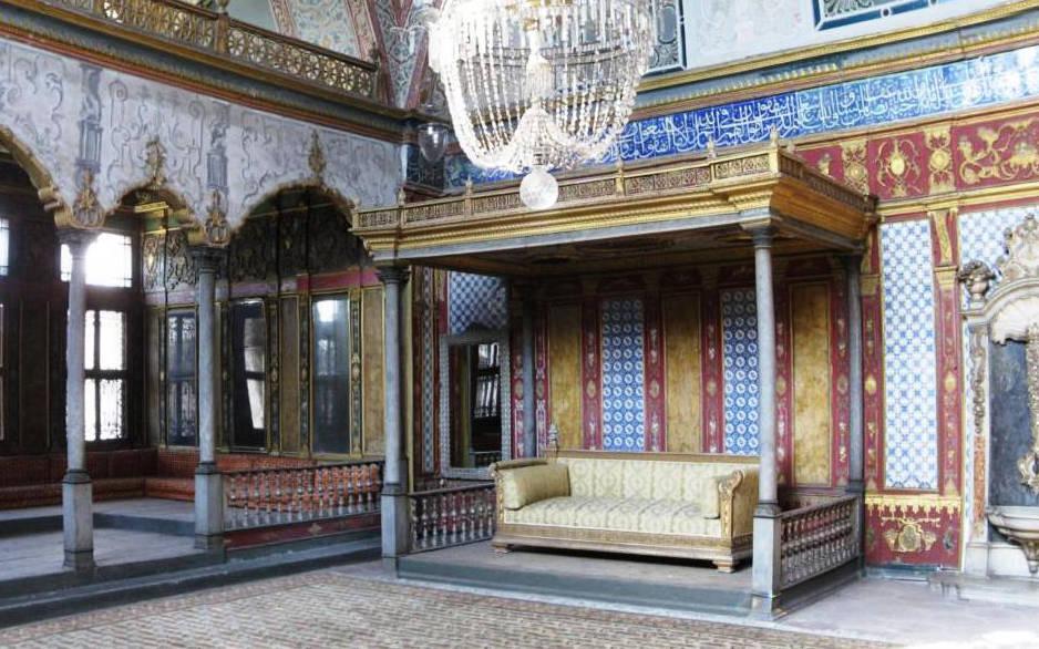 De troon van de Sultan