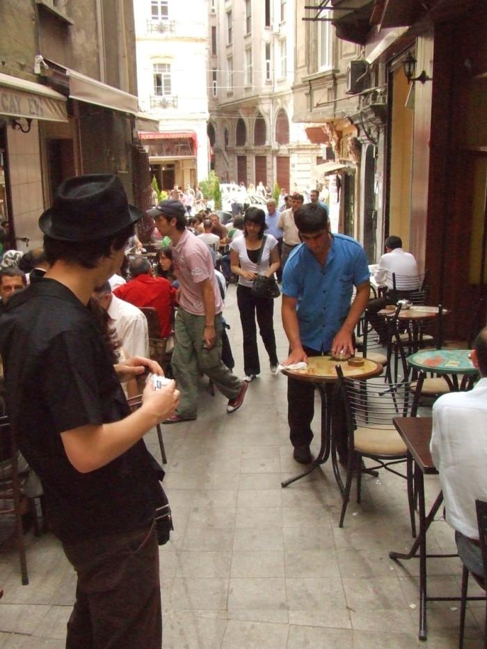 streets of Galata neighboorhoud in Istanbul